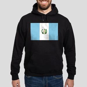Guatemalan Flag Hoodie (dark)