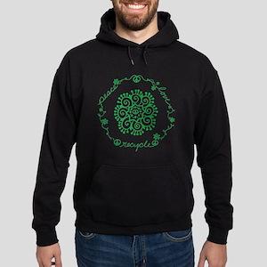 Tribal Peace Wreath Hoodie (dark)