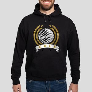 Classic Golf Emblem Hoodie (dark)