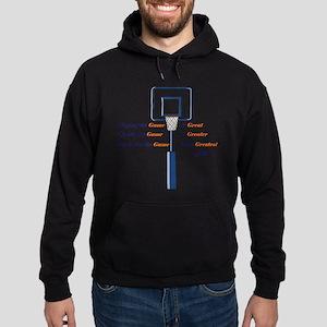 Basketball Love the Game Hoodie (dark)