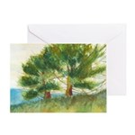 Trees of Salvation II Greeting Card