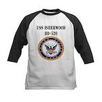 USS ISHERWOOD Kids Baseball Jersey