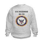 USS ISHERWOOD Kids Sweatshirt