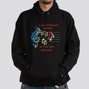 Life Without Music Hoodie (dark)
