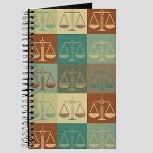 Criminal Justice Pop Art Journal