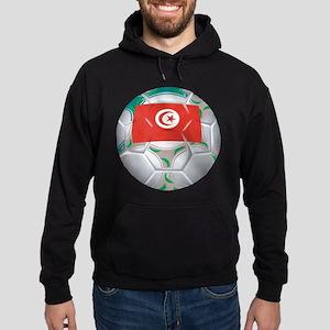Tunisia Football Hoodie (dark)