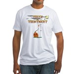 Trick Or Treatment Fitted T-Shirt