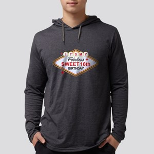 Las Vegas 16th Birthday Long Sleeve T-Shirt