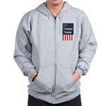 I Voted Today Zip Hoodie