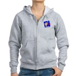 I Vote Women's Zip Hoodie