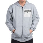 Washington Athletic Team Zip Hoodie