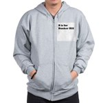 B is for Bunker Hill Zip Hoodie