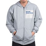 R is for Rock Creek Zip Hoodie