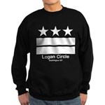 Logan Circle Washington DC Sweatshirt (dark)
