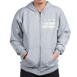 Logan Circle Washington DC Zip Hoodie