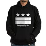 Logan Circle Washington DC Hoodie (dark)