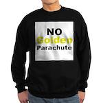 No Golden Parachute Sweatshirt (dark)