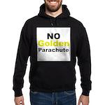 No Golden Parachute Hoodie (dark)
