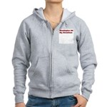 Washington DC My Hometown Women's Zip Hoodie