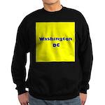 Washington DC (Yellow/Blue) Sweatshirt (dark)