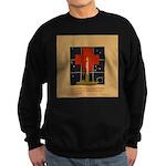 Christmas Candle Sweatshirt (dark)