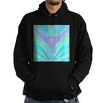 Multi-color Fractal Hoodie (dark)