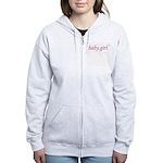 Baby Girl (pink & purple) Women's Zip Hoodie