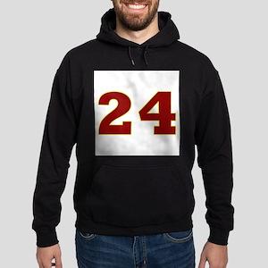 24 Burgundy/Gold Hoodie (dark)