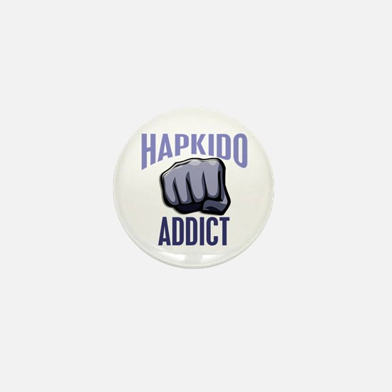 Hapkido Addict Mini Button