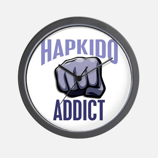 Hapkido Addict Wall Clock