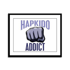 Hapkido Addict Framed Panel Print