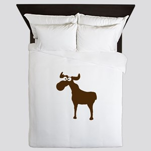 Elk Moose Sweden Norway Skandinavia Queen Duvet