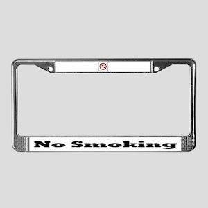 Smoking Stinx License Plate Frame