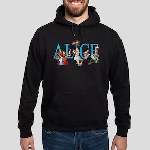 ALICE & FRIENDS IN WONDERLAND Hoodie (dark)