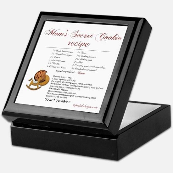 Moms Secret Cookie Recipe Keepsake Box