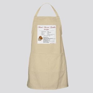 Moms Secret Cookie Recipe BBQ Apron