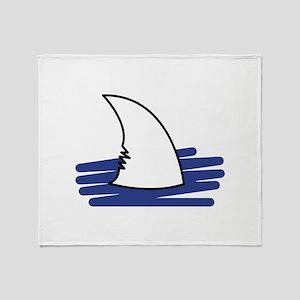 Shark Fin Throw Blanket