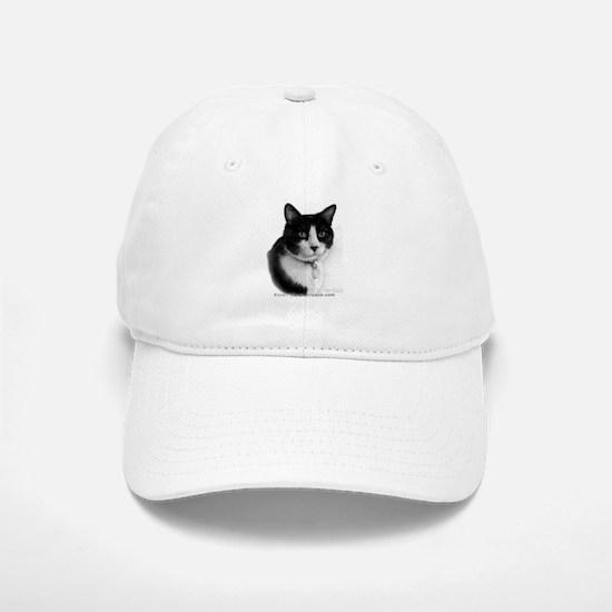 Tuxedo Cat Baseball Baseball Cap