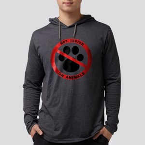 Not Tested on Animals Symbol Long Sleeve T-Shirt