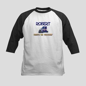 Robert Keeps on Truckin Kids Baseball Jersey