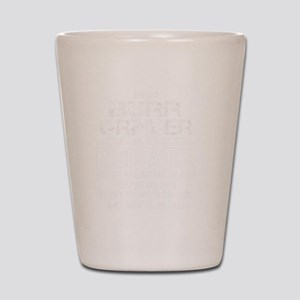 Burr Grinder Shot Glass