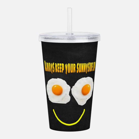 Always keep your sunny Acrylic Double-wall Tumbler