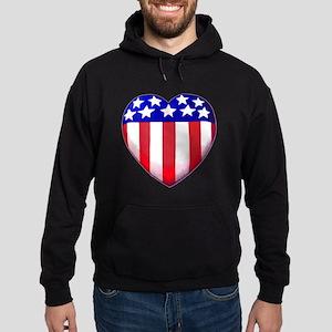 MY AMERICAN HEART Hoodie (dark)
