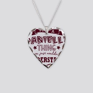its a danielle name forename Necklace Heart Charm