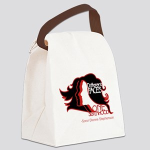 Different Faces One Sisterhood fo Canvas Lunch Bag