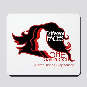Different Faces One Sisterhood for soror Mousepad