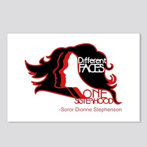 Different Faces One Siste Postcards (Package of 8)