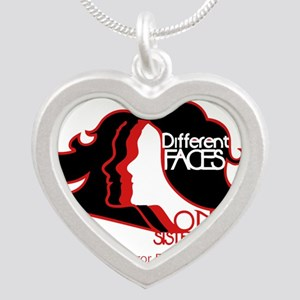 Different Faces One Sisterhood for soror Necklaces