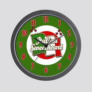 Italian Sweetheart/ Wall Clock