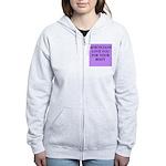 mortician gifts t-shirts Women's Zip Hoodie